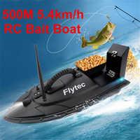 Flytec 2011-5 ferramenta de pesca inteligente rc isca barco brinquedo duplo motor inventor peixe barco de pesca de controle remoto lancha 500 metros