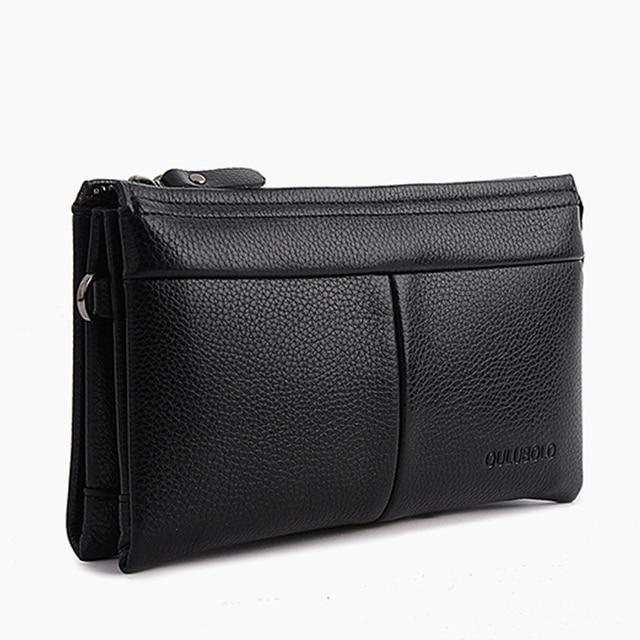 2017 Standard Brand Wallet Men Clutch Bags Leather Men Handy Bag Purse Monederos Carteras Purse credit card holder Dollar Price