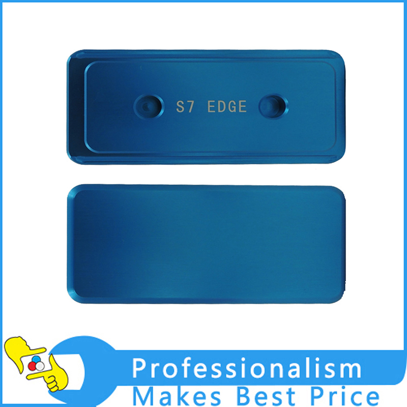 3D Sublimation mold Printed Mould tool heat press or Samsung S7 edge Case Cover solid aluminium alloy 3d heat press phone case mould for huawei ascend p6