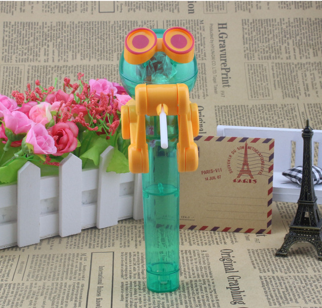 Hot sale Christmas gift party favor Toys Lollipop Holder Decompression Toy Lollipop Robot decompression candy dustproof toy gift