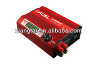 Skyrc eFuel 20A Power Supply Two 15 volts power outputs voltage adjustable LCD display Two USB ports safty protection