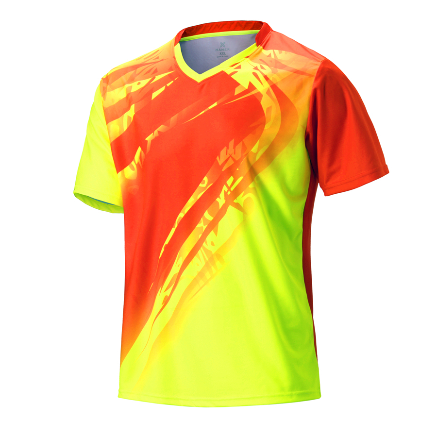 2019 sporting Sportswear Quick Dry badminton shirt ,Men badminton clothes table tennis shirt table tennis clothes  T Shirts(China)
