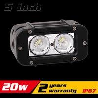 5 Inch 20W CREE LED Work Light Bar For ATV Motocycle 12v 24v LED Bar Offroad