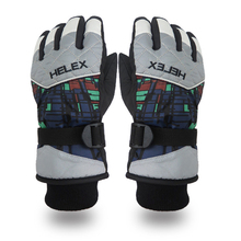Autumn Winter New Outdoor Snow Ski Gloves Male Men Snowmobile Skiing Snowboard Gloves Kids Skis Warm Waterproof Breathable Glove