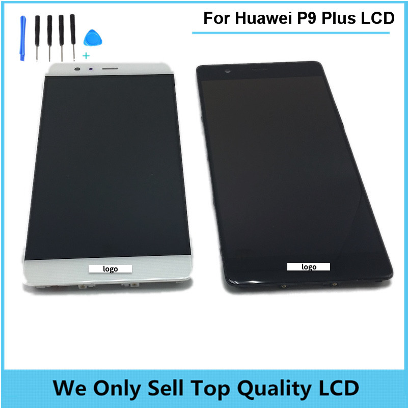 Replacement LCD for HUAWEI P9 Plus Display Screen with Touch Screen Digitizer with Frame Assembly Wholesale 10pcs/lot Free DHL replacement lcd for huawei p9 plus display screen with touch screen digitizer with frame assembly wholesale 10pcs lot free dhl