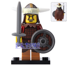 DR TONG Single Sale XH638 Hun Warrior Building Block Evil Knight Chief Athena Ares Super Heores