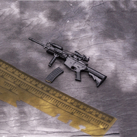 1/6 Scale Action Figure Accessories M4A1 Gun Weapon Model DIY Toy for 12 inches Body Figure