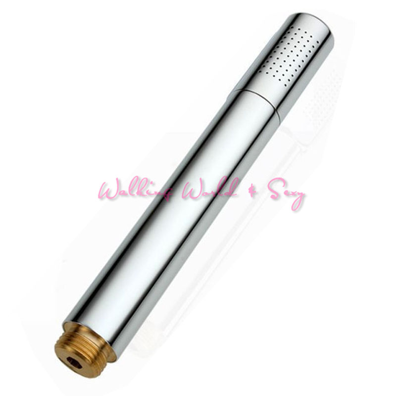 Unisex Copper Enema Shower Anal Cleaner Head Vaginal Washing Anal Douch Shower Cleaning Bathroom Rectal Syringe Sex Toys For Gay