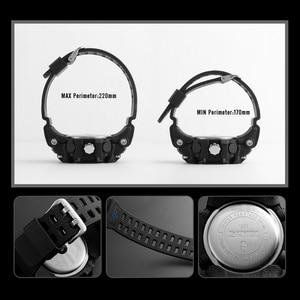 Image 5 - SKMEI חדש S הלם גברים ספורט שעונים גדולים חיוג קוורץ דיגיטלי שעונים לגברים יוקרה מותג LED צבאי עמיד למים גברים שעוני יד