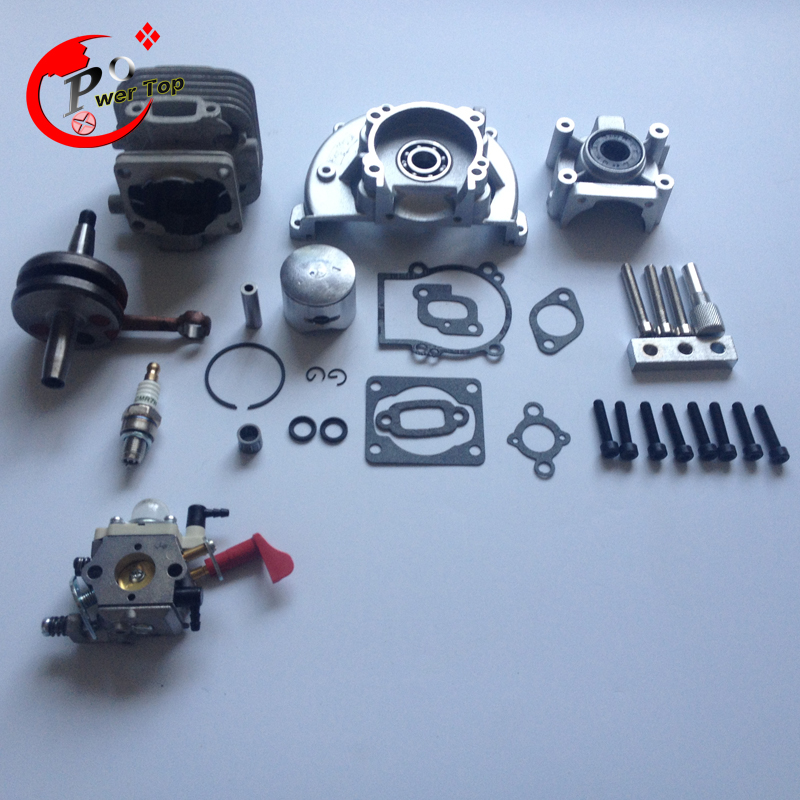 rovan engine 30.5CC 4 bolt kit (With 30.5cc cylinder+4 hole crankcase+997/668 walbro carburettor) for HPI baja 5B King Motor 38mm engine housing cylinder piston crankcase kit fit husqvarna 137 142 chaisnaw