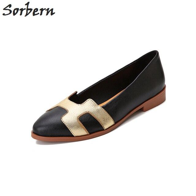 d2b32bd94 Sorben Fashion Sheepskin Flat Shoes Women 2017 For Sale Slip On Autumn Women  Shoes Leather Casual Shoes Souliers Pour Femme