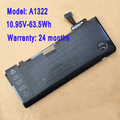 """NOVA 10.95V-63.5Wh A1322 Bateria Para Macbook Pro 13 """"A1278 2009 2010 2011 2012 Anos"""