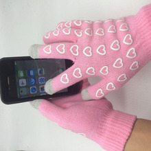 GLV915 Women touch screen winter outdoor knitting warm winter font b gloves b font manufacturers selling