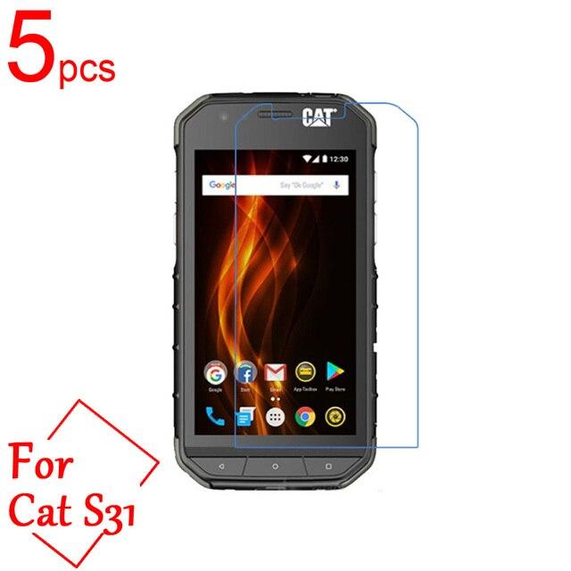 5 uds Ultra claro/mate/Nano anti-explosión para CAT S31 LCD Protector de pantalla cubierta de la película para Cat S41 S31 película protectora + paño
