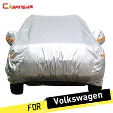 Cubierta de Protección Cubierta Del Coche Sol Anti UV Lluvia Nieve Cawanerl para VW Volkswagen Tiguan Polo HASTA Phaeton Escarabajo Jetta Santana Multivan
