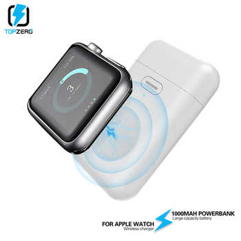 1000mAh Wireless Charger Mini Power Bank For i watch 1 2 3 4 5 Magnetic Portable Powerbank Thin External Battery For Apple Watch - DISCOUNT ITEM  42% OFF All Category