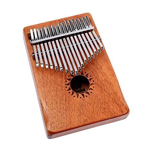 Walter Mahogany Wood 17 Key Acoustic Thumb Finger Piano Kalimba Music InstrWalter Mahogany Wood 17 Key Acoustic Thumb Finger Piano Kalimba Music Instr