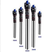 Répteis & anfíbios automáticos ajustáveis de aço inoxidável aquário aquário aquecedor de temperatura de água répteis & amp