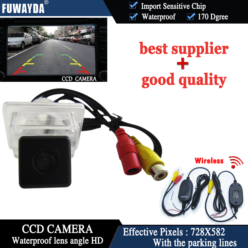 FUWAYDA WIRELESS CAR REAR VIEW REVERSE Mirror font b CAMERA b font for Mercedes Benz C