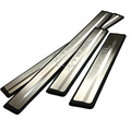 For 2014 2015 2016 Nissan X-Trail X Trail XTrail T32 Sport Style Stainless Scuff Plate Door Sill Welcome Pedal Car Accessories