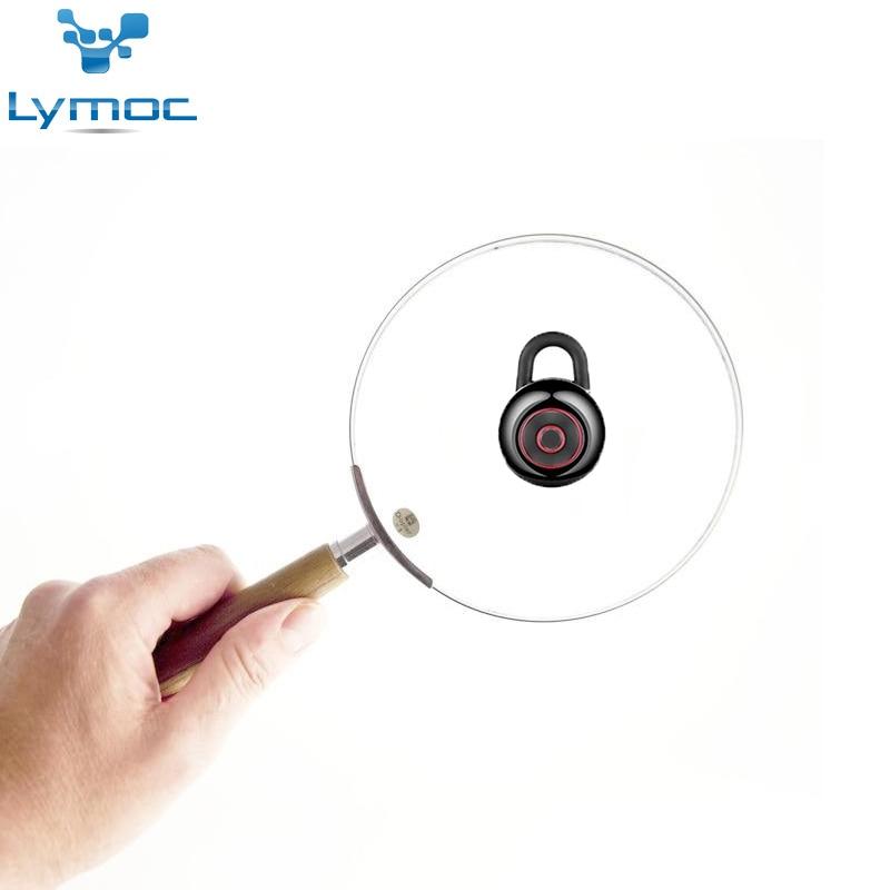 LYMOC Mode Mini Simple Casque Bluetooth Écouteurs Sans Fil Dans L'oreille Écouteur Auriculares Mains Libres Appel Ecouter Musique pour Téléphone