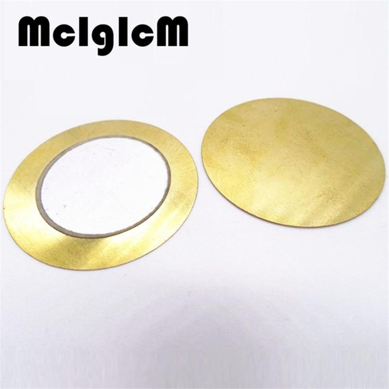 R176-03 Electronic Components accessories 10pcs Diameter 20mm Piezoelectric Ceramic pieces Copper Buzzer Film Gasket