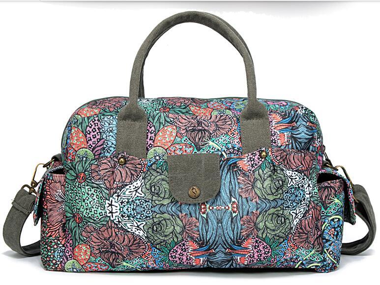 ФОТО Temperament National Style Bags Large Capacity Messenger Shoulder Bag Women Canvas Bag The New Travel Handbag