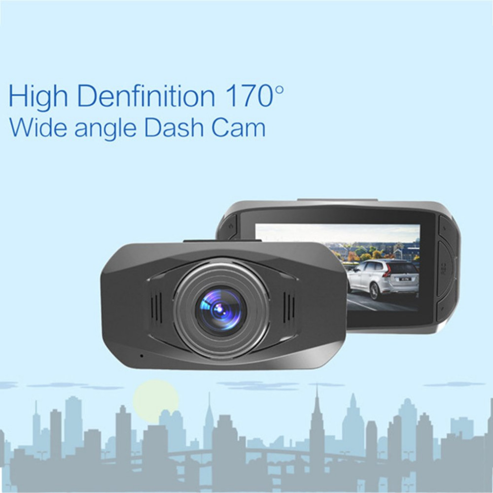 Full HD 1080P Dash Cam 170 Wide Angle Car Camera Car DVR with G-Sensor Loop Recording WD ...
