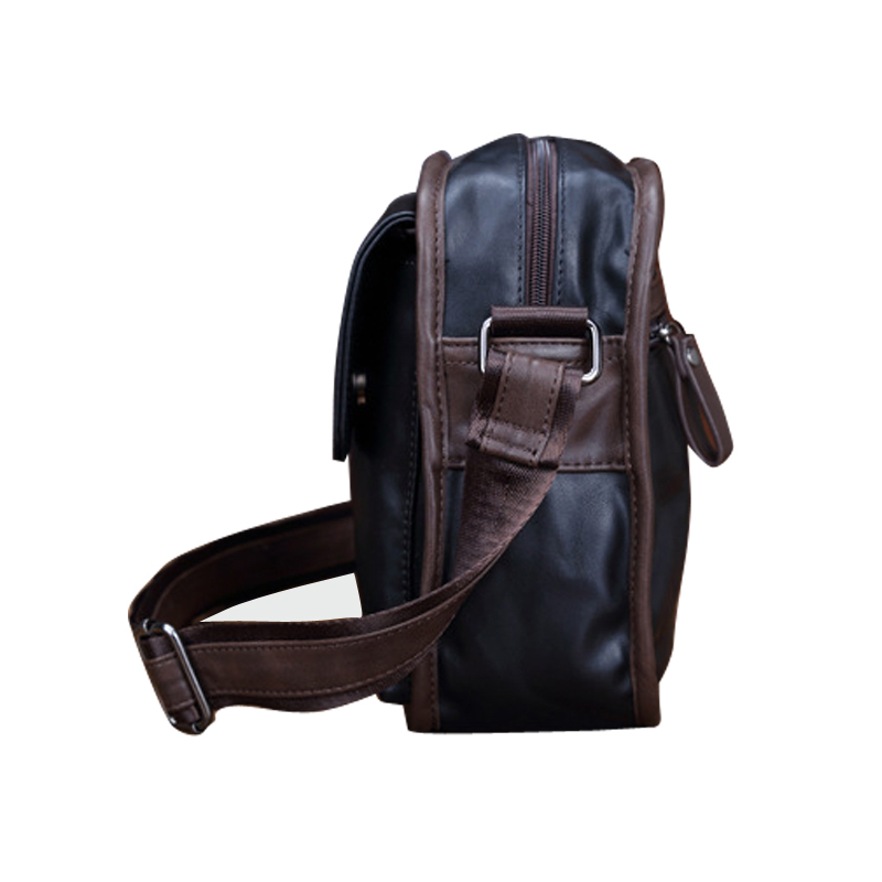 e0c75f9501 Vintage Personality Hasp Open Soft Waxy PU Leather Messenger Bags Men UK  Style School Shoulder Bag Fashion Leather Bag Man B95-in Crossbody Bags  from ...