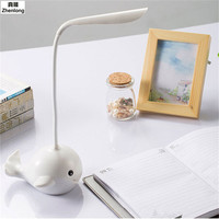 Modern USB Charging TouchTable Lamp Hose Children's Cartoon Creative Gifts Led Small Desk Lamp Eye Protection Learn To Read Led