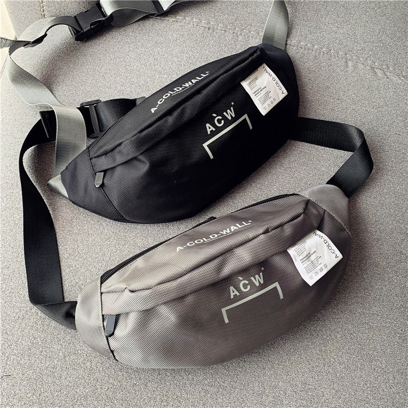 Top Quality A-Cold-Wall ACW Women Men Unisex Waistbag Handbags Hiphop Streetwear ACW Bags Backpack