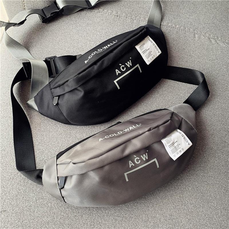 Top Quality A-Cold-Wall ACW Women Men Unisex Waistbag Handbags Hiphop Streetwear ACW Bags Backpack