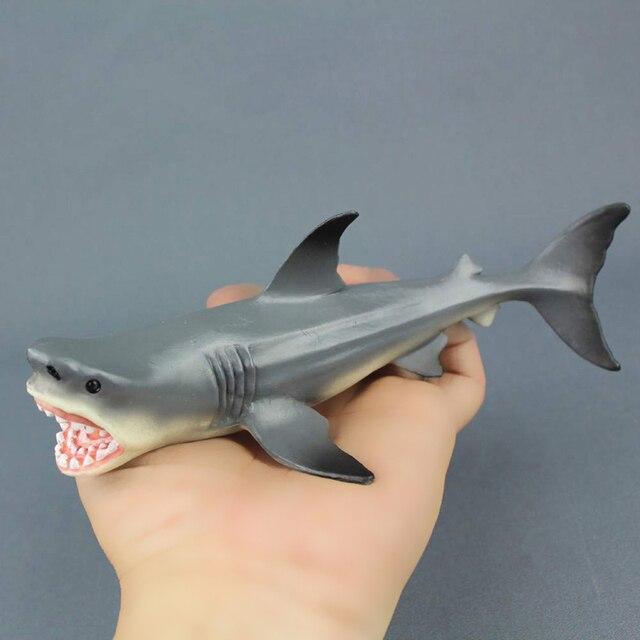 Креативные детские игрушки Megalodon достаринная Акула океан образование животное фигурка Модель Детская игрушка подарок