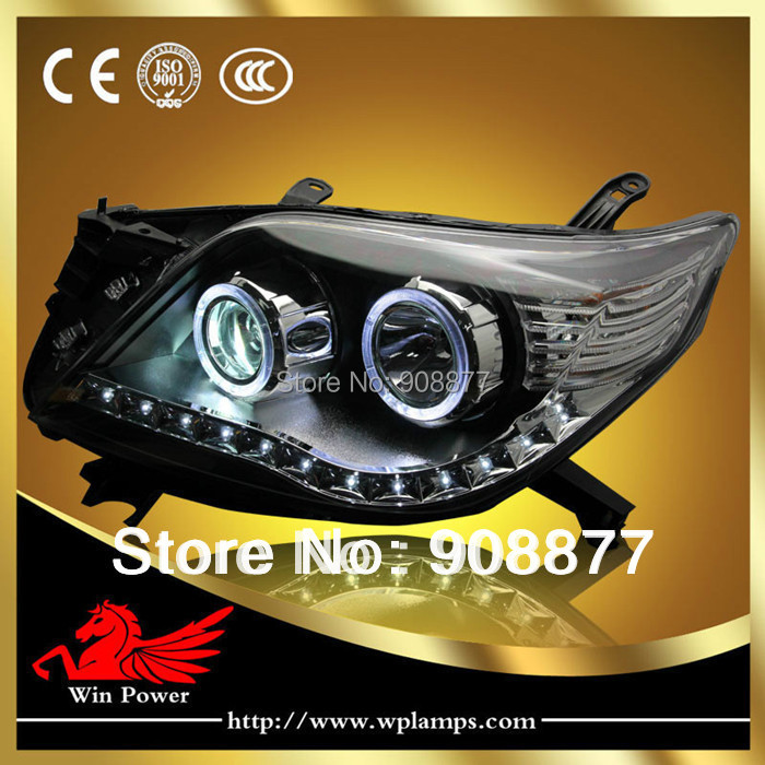 2010 land cruiser headlights