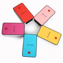 5 Color High Quality Mini Warm Air Electric Heater Portable Desk Fan Fire-protection Materials Handheld Electric Heating Device