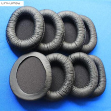 2 pairs 85mm oval shape headphone leatherette ear cushion pads Free shipping by registered mail