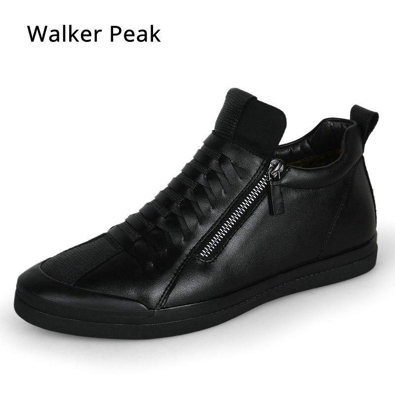 Mannen Mode Goedkoop Casual Schoenen Sneakers Winter Voor Zwarte Slip Beste Op Herfst Loafers Lederen Heren Kopen Designer Merk UICwxx8qT