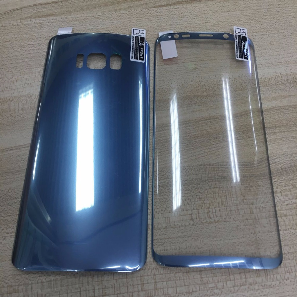 2pcs Front +Back Protective Soft PET Screen Protector For Samsung Galaxy S9 S8 Plus Film ( Not Tempered Glass )