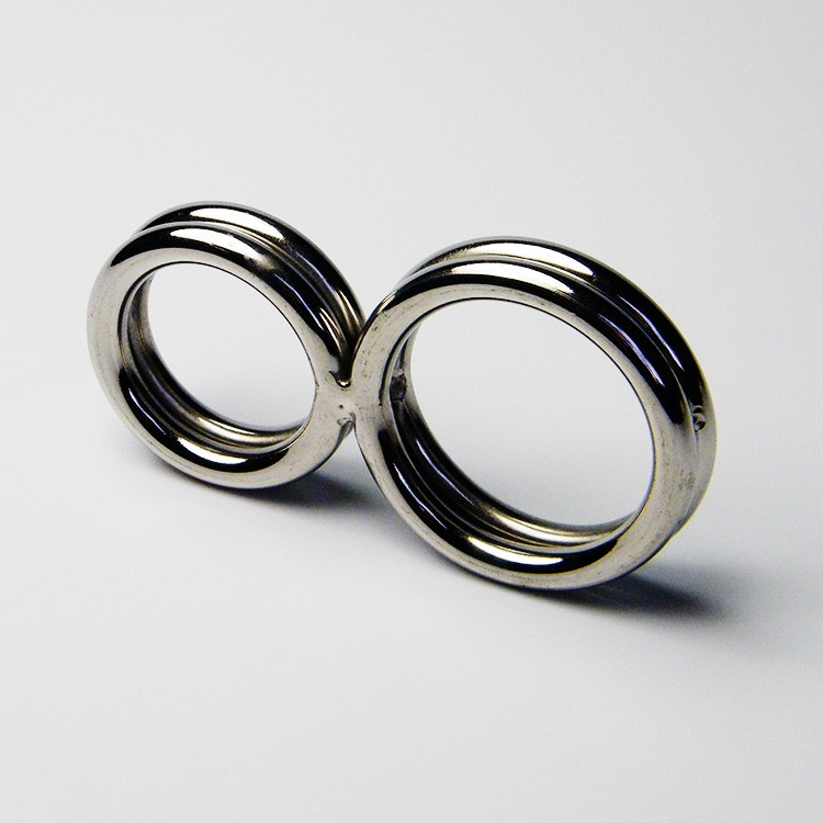 Men Penis Delay Rings Stainless Steel Cock Bondage Ring Adult Sex Toys For Couples Gays Glans Cockring Coronary Sulcus Ornament1