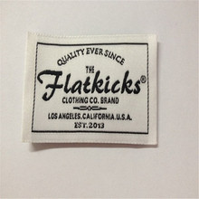 Customized Woven Label  High Density Garment