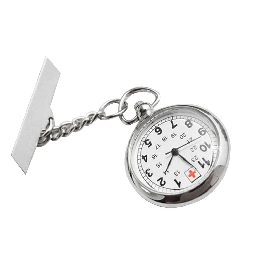Portable Nurses Watch Doctor Fob Watch  Quartz  Pocket Watch Necklace Pendant Chain Clock Women Gift