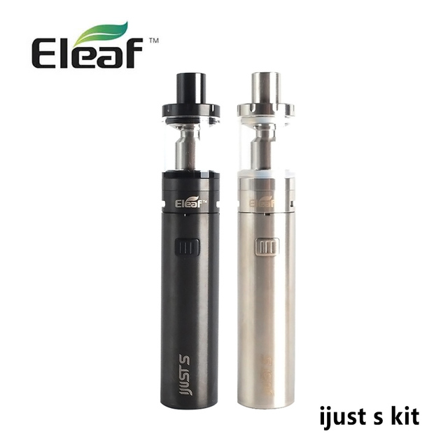 100% cigarro eletrônico original eleaf ijust kit s 3000 mah bateria vape 4 ml tanque vaporizador cigarro eletrônico caneta shisha