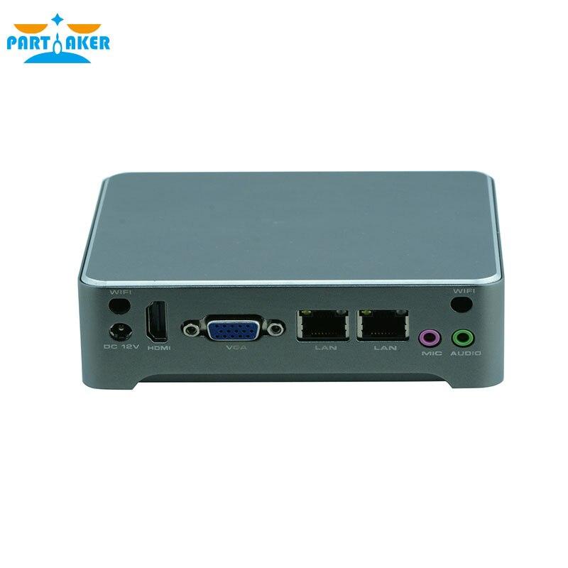 Sin ventilador lan dual quad core baytrail j1800 j1900 procesador nano industria