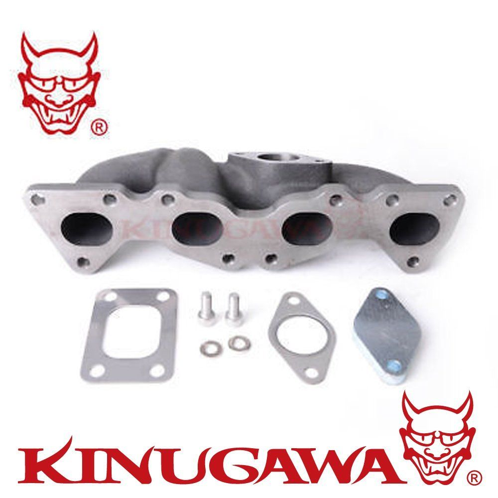 Kinugawa Turbo Manifold Kit T25 Flange Top Mount for Citroen C2 VTS 1.6L turbo rebuild kit nis an sr20det w g rr tt t25 411 03076 001