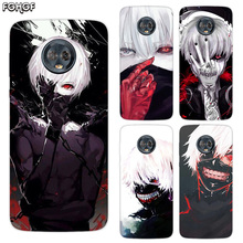 Silicone Hull Shell Back Case For Motorola MOTO G5 G5S G6 E4 E5 Plus G4 Play X4 Riverdale Cover Tokyo Ghoul