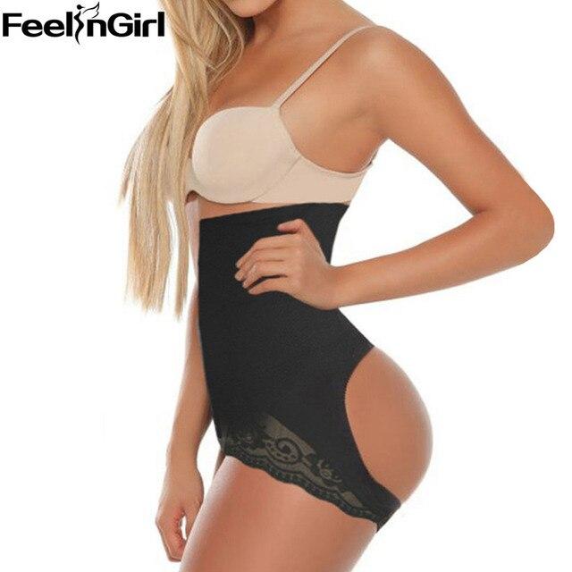 418fba29e42 FeelinGirl Lifting Underwear with Waist Cincher NEW WOMEN S FULLNESS BUTT  LIFTER TUMMY SUPPORT SHAPER FIGURE ENHANCER