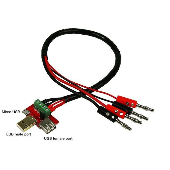 Провод измерения напряжения/тока USB Мужской и Женский кабель тестовая линия Мужской кабель разряд Conncetor