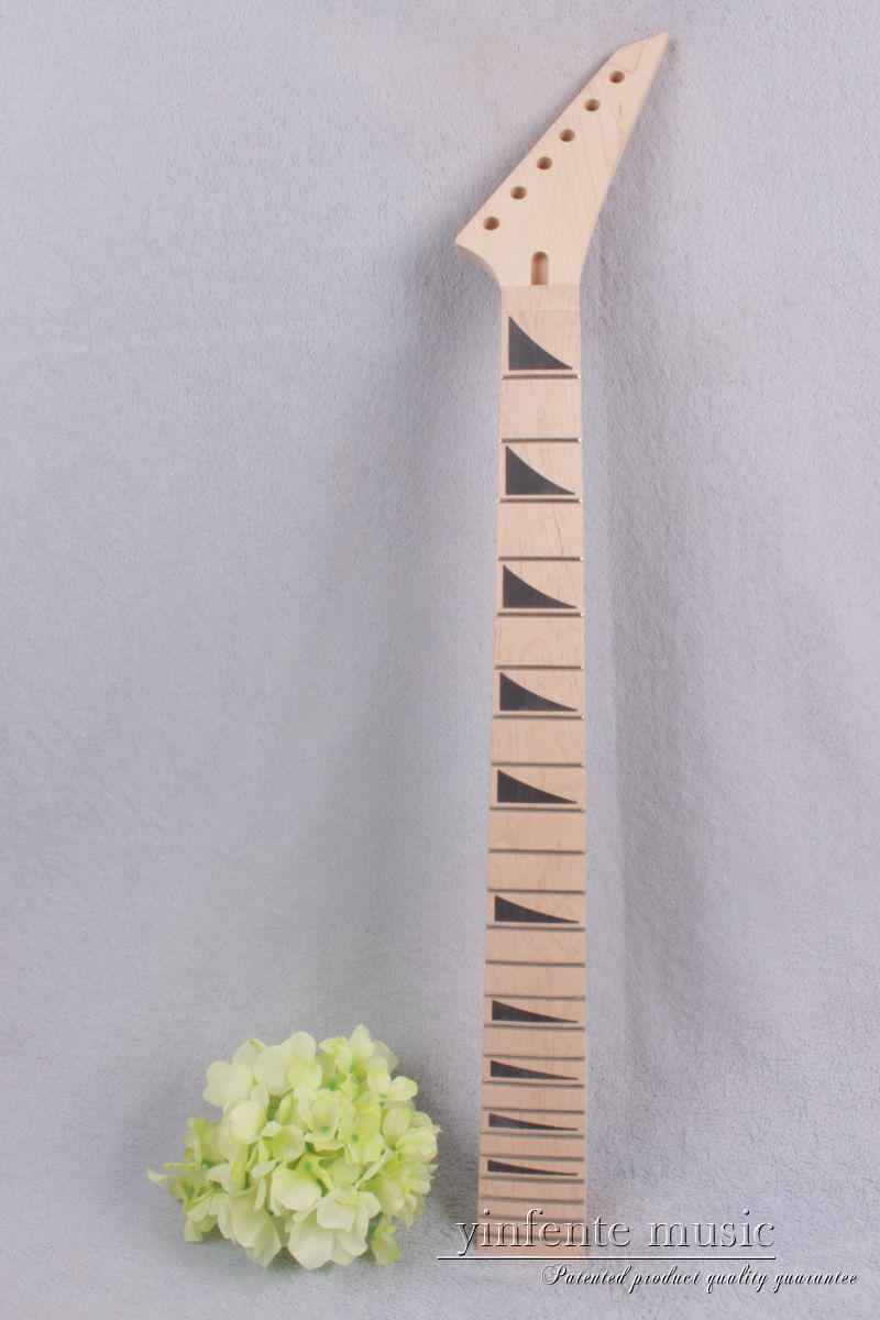 New electric guitar neck 24 fret 25.5 inch Maple wood Fretboard #755 new 1pcs electric guitar neck maple wood fretboard paddle 22 fret 25 5 bolt on