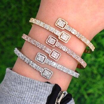 db1ac889ad87 GODKI moda lujo Arabia Saudita brazalete de plata brazalete de anillo  conjuntos de joyas para mujer boda compromiso brincos párr como mujeres 2019