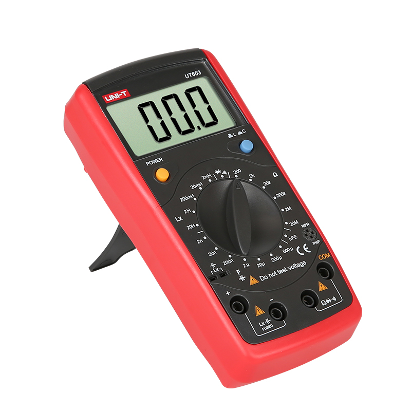 UNI T UT611 Portable Handheld Digital LCR Meters Auto LCR Smart Measurement Inductance Capacitance Resistance Frequency Testers in Capacitance Meters from Tools